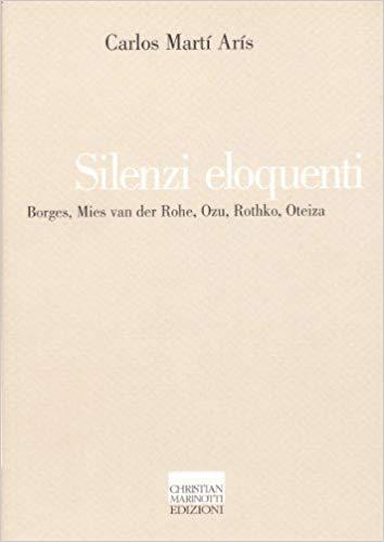 libro silenzi eloquenti carlos martí arís