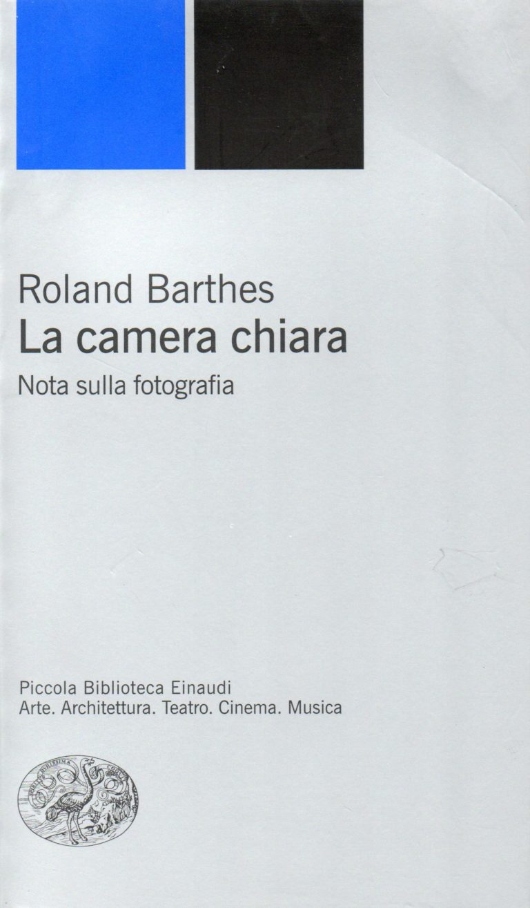 Roland Barthes La camera chiara