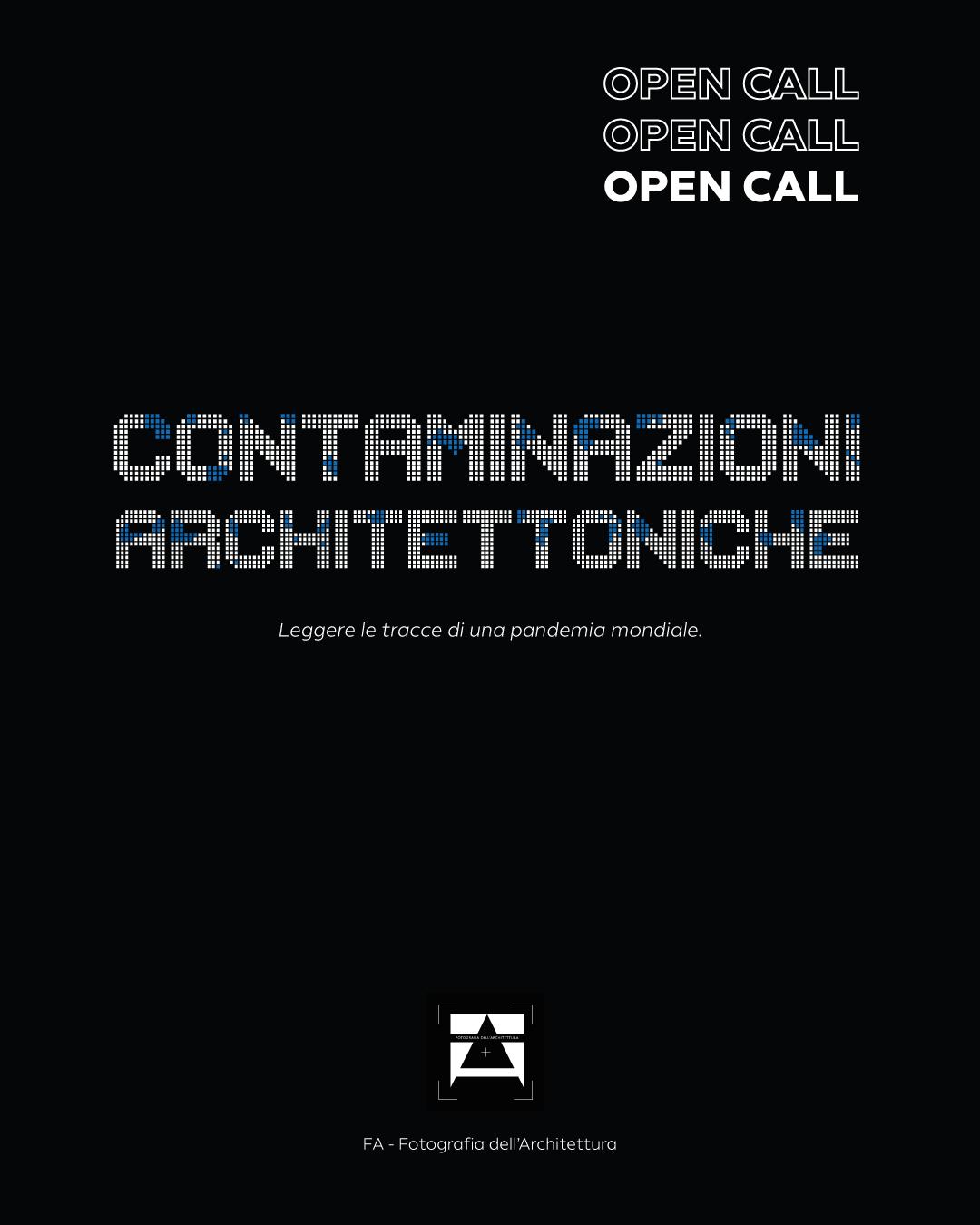 Contaminazioni architettoniche open call fotografia dell'architettura Donata Sasso Leonardo Brancaleoni